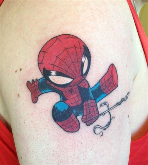 tattoo ideas for young men skottie baby spider