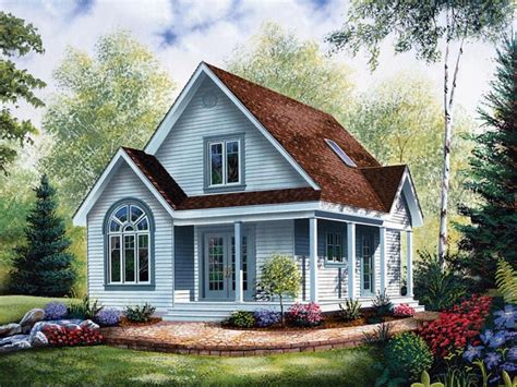 Small House Plans Cottage by Cottage Style House Plans With Porches Economical Small