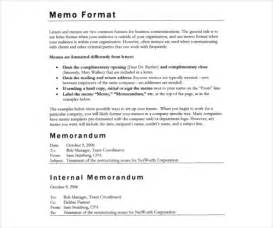 Corporate Memo Template by Memo Templates 6 Free Word Pdf Documents