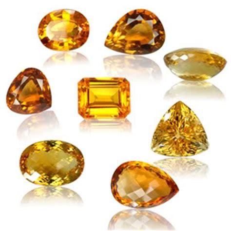 citrine color semi precious citrine facts gemstone jewelry