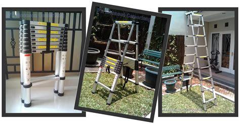 Tangga Aluminium 2m tangga aluminium teleskopik tangga aluminium