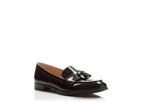 via spiga loafers via spiga amica tassel loafers in black lyst