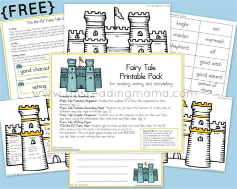 tale book report template free tale printable pack