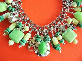Image result for Silver Charm Bracelet