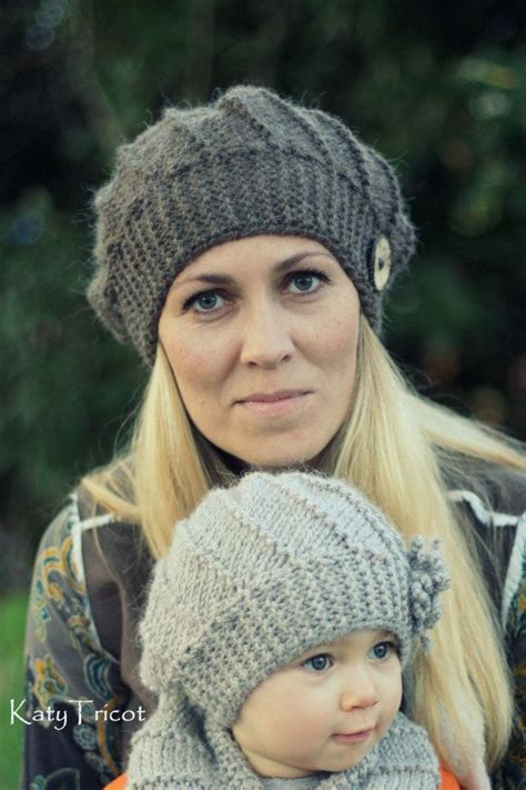 pdf knitting pattern hat and cowl set quot cool wool quot toddler