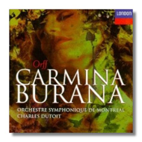 Author Burana by Classical Net Review Maestrino Orff Carmina Burana