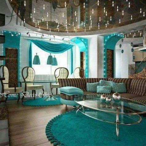 Teal And Brown Home Decor This Teal Brown Living Room Lr Ideas