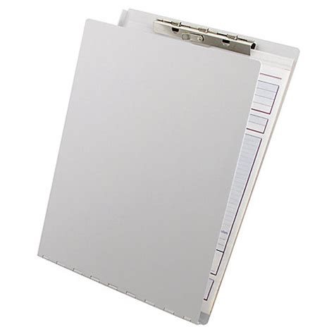 office depot brand aluminum clipboard with privacy cover 8