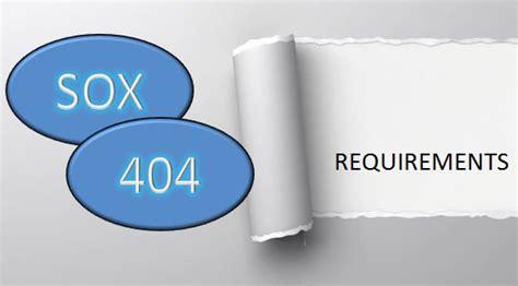 image gallery sec 404 sarbanes oxley