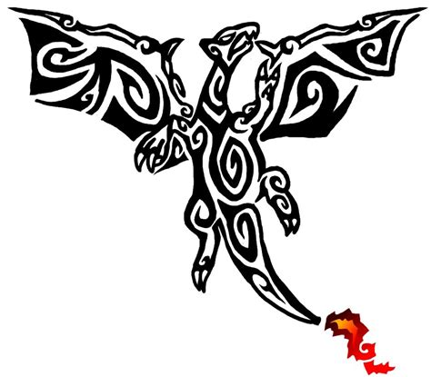 charizard tattoo design 10 cool tribal tattoos only tribal