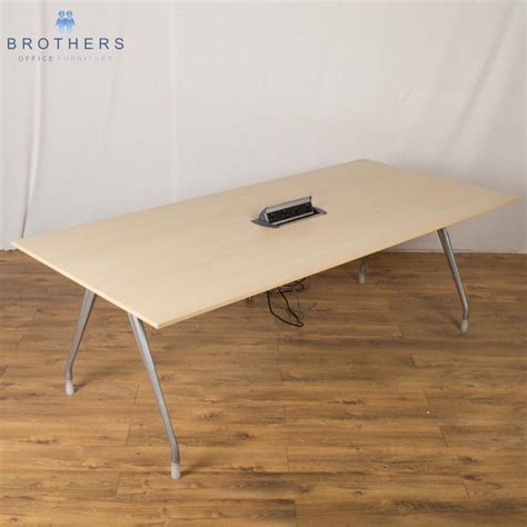 Herman Miller Boardroom Table Herman Miller Maple 2200x1000 Boardroom Table