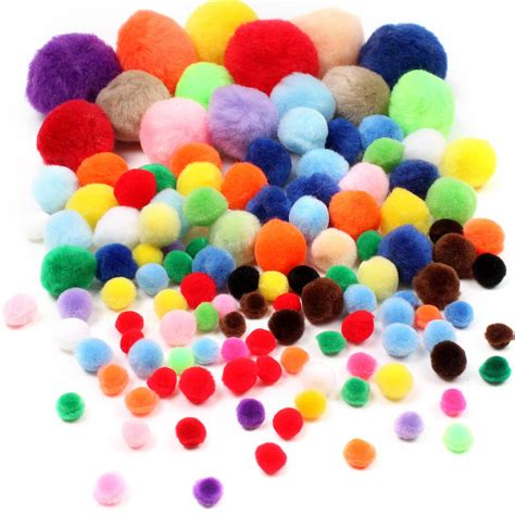 Pom Poms assorted pom pom value pack hobbycraft