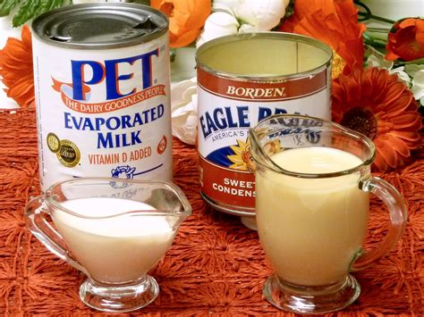 evaporated milk for puppies evaporated and condensed milk cooking tips