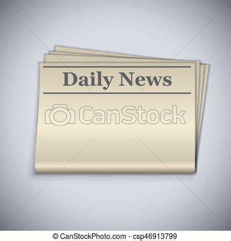 Newspaper Folded Stock Vector More Images Of Article 158578801 Istock Daily News Blank Folded Newspaper Vector Template