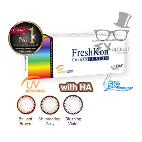 Freshkon Colors Fusion Sparklers freshkon 174 color fusion daily sparklers eyoptical