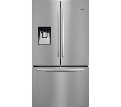 American Style Fridge Freezer No Plumbing Required by Buy Aeg S76010cmx2 American Style Fridge Freezer Silver