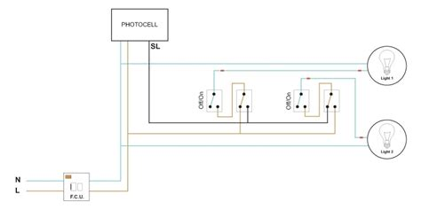 photocell and timeclock wiring diagram photocell on time