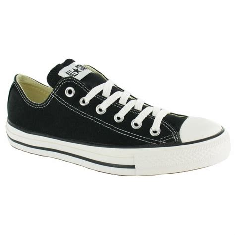 flat converse shoes converse all oxford unisex canvas shoes black