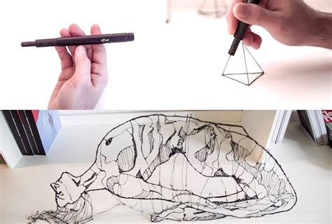 3d printing pen turns doodles into sculptures world s smallest 3d printing pen lets you doodle in the air
