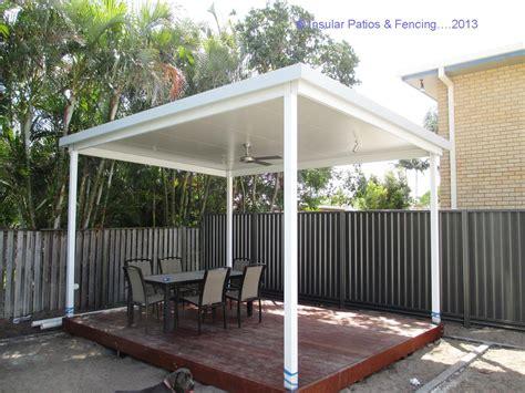 free standing patios insular patios fencing