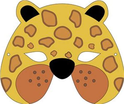leopard mask template 17 best images about welcome baby on owl