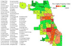 Chicago Safety Map by Chicago Crime Blog All The Statistics You Don T Want To Be