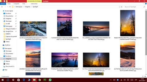 imagenes muestra windows 10 191 sab 237 as c 243 mo obtener las im 225 genes de foco en windows 10