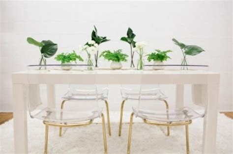 ikea dining chair hack 10 ideas for painting objects with gold spray ikea novasol
