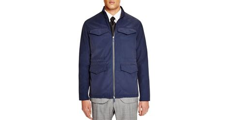 Jaket Parka Hoodie Pocket Navy Berkualitas hardy amies four pocket jacket in blue for navy save 20 lyst