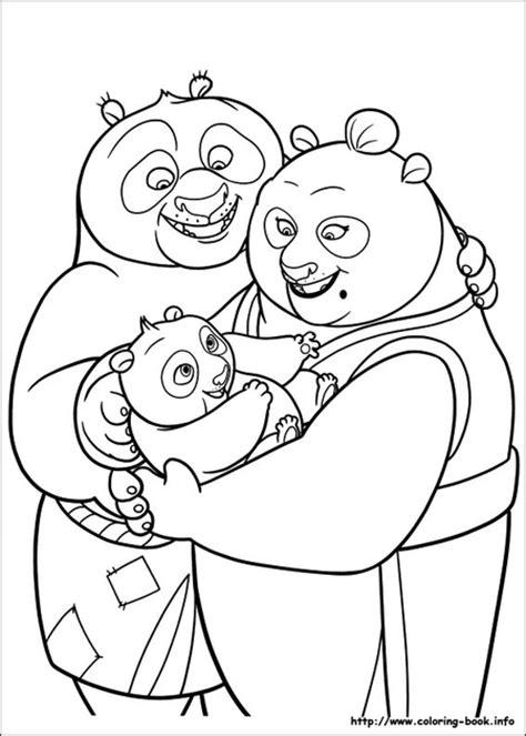 panda family coloring page 40 printable kung fu panda coloring pages for kids
