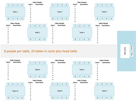 seating chart wedding template wedding reception seating chart or rectangular