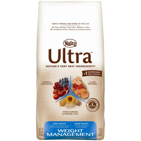4 weight management nutro ultra weight management food 4 5 lb