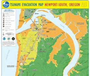 oregon tsunami evacuation maps everything earthquake and tsunami in the month of may in