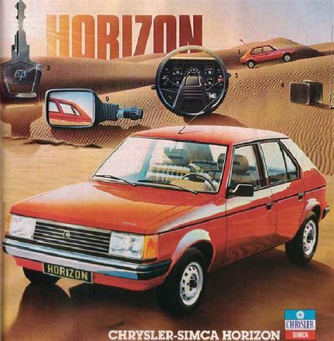 Chrysler Horizon by Chrysler Horizon Classic Car Review Timeline Honest