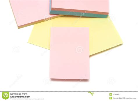 colored pages of notebook royalty free stock photography