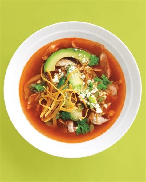 mexican chicken tortilla soup recipe dishmaps