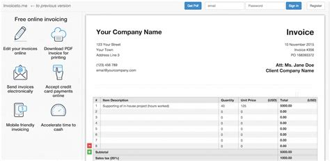 invoice design tool invoice template maker top 10 free invoice tools for small