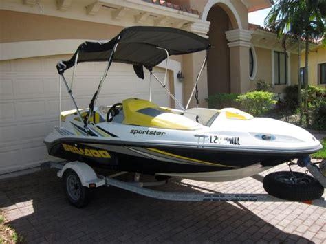 sea doo bombardier boat 2006 seadoo sportster 4 tec bombardier 215hp jet boat