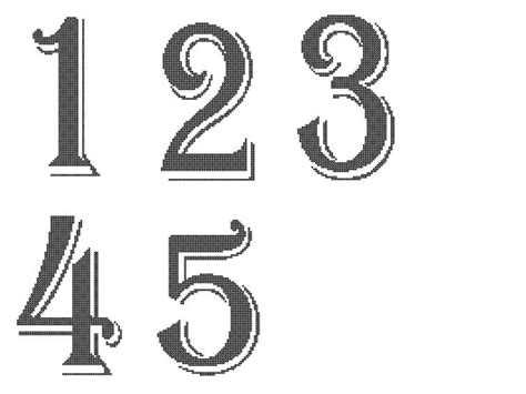 free printable table numbers 1 10 6 best images of free printable table numbers 1 10