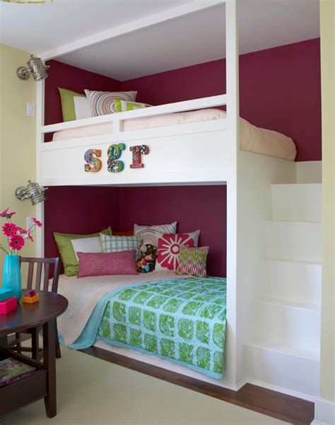 cute girl bunk beds 27 fantastic built in bunk bed ideas for kids room from a