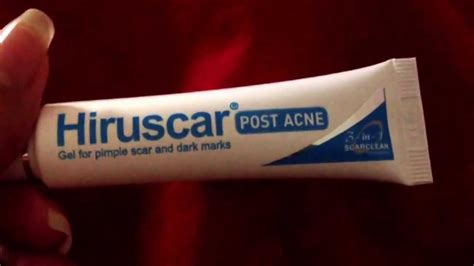 Hiruscar Post Acne Gel review for hiruscar post acne gel for pimple n acne scars