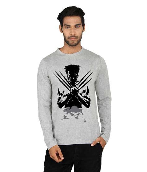 Tshirt Black Printed Dsvn say it loud wolverine printed black sleeve t shirt buy say it loud wolverine printed