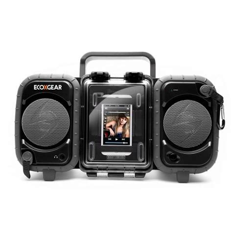 Rugged Boombox best review of grace digital gdi aq2si61 ecoxgear rugged and waterproof stereo boombox black
