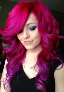 colored hair magenta hair color ideas awesome looks