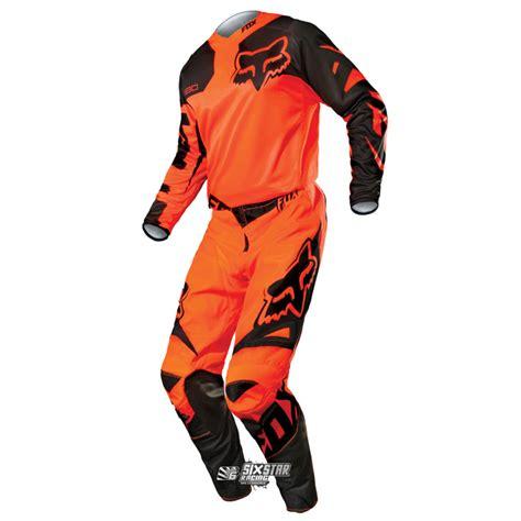 orange motocross gear 2015 fox 180 race orange black ktm jersey pant motocross