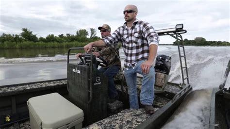 gator trax boat with outboard mudbum mercury and gator trax youtube