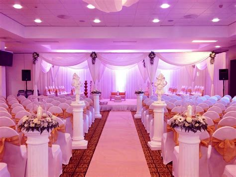 marvelous purple wedding decoration   wedding