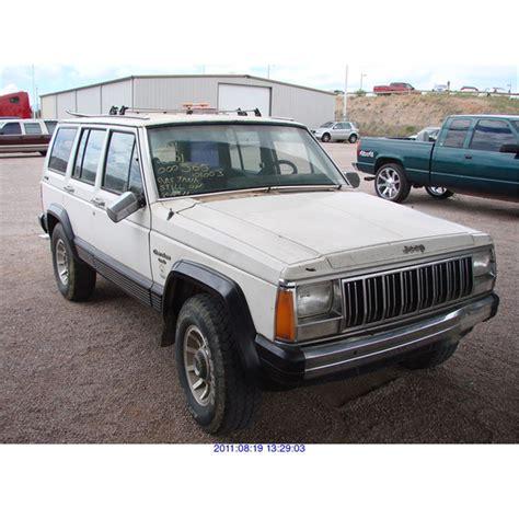 totaled jeep grand cherokee 1988 jeep grand cherokee