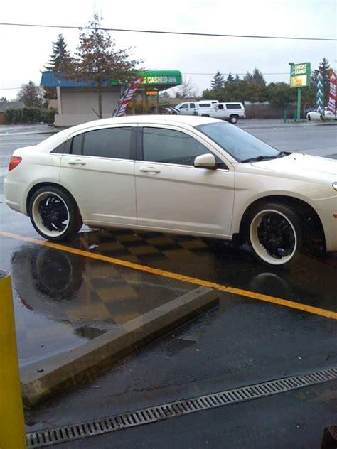 Chrysler Sebring Rims by Black Rims For Chrysler Sebring