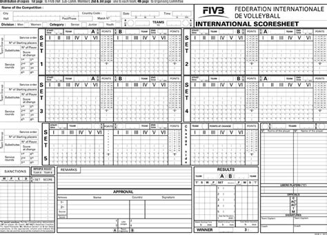 free printable volleyball score sheets volleyball score sheet download free premium templates